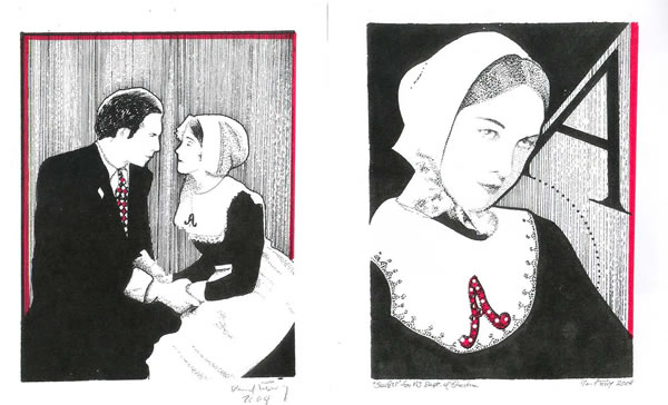 the scarlet letter and adulteress hester The scarlet letter: hester prynne, free study guides and book notes including comprehensive chapter analysis, complete summary analysis, author biography information.