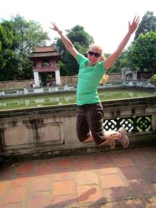 Annie Sullivan celebrates Vietnam